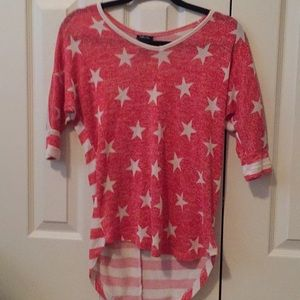 Quarter sleeve with stars